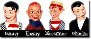 Danny O'Day, Howdy Doody, Mortimer Snerd & Charlie McCarthy